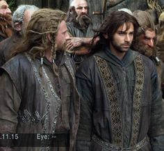 """""""Kili, I think there's something in your hair."""" <-- """"Majesty Fili, majesty... *whispers* am I doing it right?"""""""