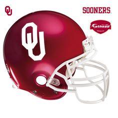 Fathead University of Oklahoma Helmet Vinyl Wall Graphic