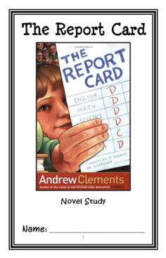 the report card book summary andrew clements Andrew clements is the author of the enormously popular frindle a conversation with bestselling children's book author andrew reading group guide for the report card reading group guide for room one.