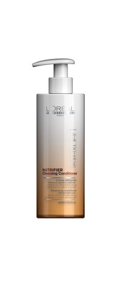 L'Oréal Professionnel Paris Série Expert Nutrifier Cleansing Conditioner 400ml. L'oréal Professionnel, Cleansing Conditioner, Soap Dispenser, Loreal, Hair Style, Personal Care, Paris, Bottle, Beauty