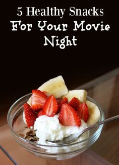 Are you planning a movie night with your friends? You need to check out this super AMAZING and healthy snack ideas for your next night in! Delicious!