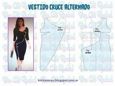 Easy Sewing Patterns, Dress Patterns, Pattern Dress, Pattern Draping, Cowl, Sexy, Embroidery, Stitch, Knitting