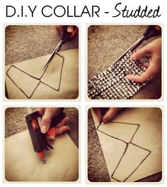 DIY Collar #studded