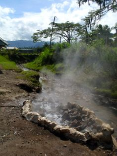 """Hot spring for cooking food for the local Fijian people. """"Repinned by Keva xo""""."""