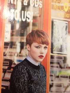 Chloe Howl, looking fierce.