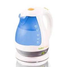 No more bottle warmer! It takes literally one minute to prepare bottle. It stores up to 51 oz of water (purified of course) at the optimal 98 degrees ALL day! You just pour in bottle and add formula.