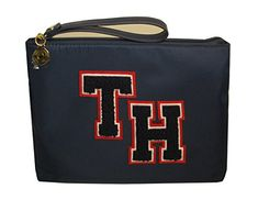 Tommy Hilfiger Logo Wristlet Bag Navy Womans ** Check this awesome product by going to the link at the image. (This is an affiliate link) Tommy Hilfiger Handbags, Navy Women, Wristlet Wallet, Wristlets, Designer Handbags, Tote Bags, Wallets, Image Link, Shoulder Bag