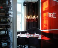 LEMAYMICHAUD   Il Matto   Architecture   Design   Hospitality   Eatery   Restaurant   Dining Room   Custom Lighting   Seating   Signage   Branding  