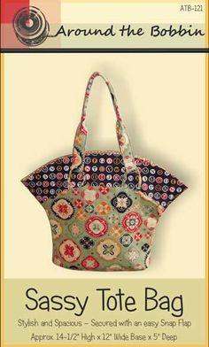 Sassy Tote Bag Pattern * - Click Image to Close