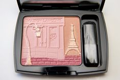 An oldie but a goodie: the 2011 #Lancome blush packaging - showing a Parisian street scene - how cute is that?