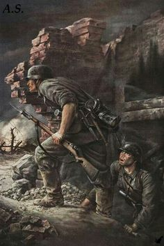 Ww2 German Illustration