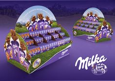 """Check out this @Behance project: """"DISPLAY MILKA"""" https://www.behance.net/gallery/44475769/DISPLAY-MILKA"""