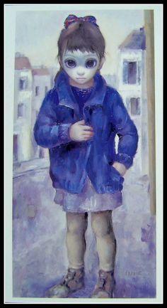 """""""Girl of Marseille"""" ~ Margaret Keane, 1964"""