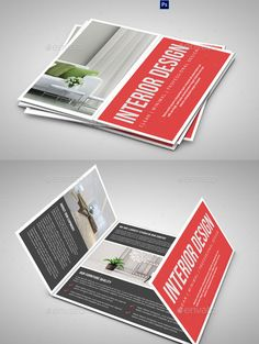 Gate Fold Interior Brochure V458 Brochure Templates Pinterest