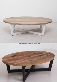 Mesa r a tona Round Wood Coffee Table, Coffee Table Legs, Coffee Table Design, Wood Table, Wood Pallet Furniture, Table Furniture, Furniture Design, Table Decor Living Room, Bedroom Decor