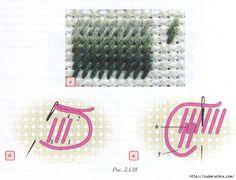 Стежки - для различной вышивки.. Обсуждение на LiveInternet - Российский Сервис Онлайн-Дневников
