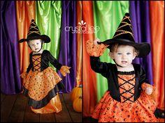 DIY Halloween photo backdrop. http://crystalleephotography.com