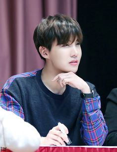 J-Hope - he has a beautiful face