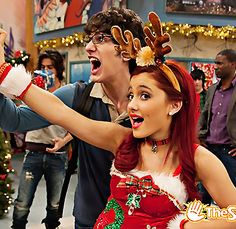 We had so many awesome holiday photos lying around we just had to make another gallery! See what else we did this Christmas! Ariana Grande Cat, Ariana Grande Pictures, Nick Tv Shows, Divine Girls, Hollywood Arts, Victorious Cast, Cat Valentine Victorious, Queer As Folk, Sam And Cat