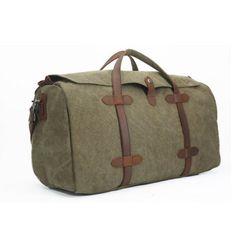 6c406f0eac80 Waxed Canvas Duffle Bag   Weekend Bag   Duffel Bag Men   Men Duffle Bag