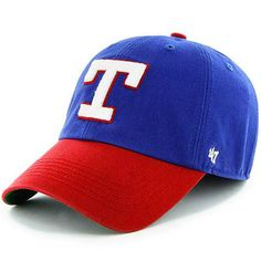 849197b893b Men s  47 Brand Royal Blue Texas Rangers Franchise Cooperstown Fitted Hat