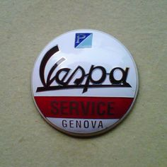 (For sale) Vespa service badge by pophscoot