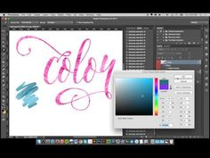 How to install and use Shimmery Swirls Metallic Gold paint styles for Photoshop - YouTube