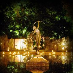 In December, see Brookgreen Gardens, in Murrells Inlet, SC, come to life with the soft glow of more than 5,500 hand-lit candles and countless sparkling lights.