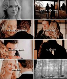 my heart breaks every time #steroline #tvd