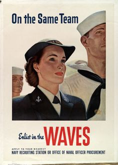 Women Accepted for Volunteer Emergency Service (WAVES, US naval women's auxiliary) established 30 July 1942.