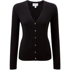 V Neck Cashmere Cardigan ($140) ❤ liked on Polyvore featuring tops, cardigans, cashmere v neck cardigan, cardigan top, cashmere top, fitted tops and v-neck tops