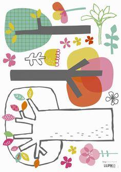 print & pattern blog- new at lilipinso - trees by Dawn Machell