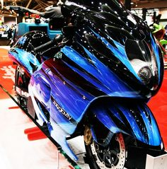 Sick Suzuki Hayabusa from the Zero Gravity Empire crew.
