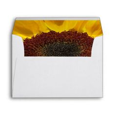 Sunflower Sun Envelope | Photography by Martie Hevia http://www.zazzle.com/mhevia*/