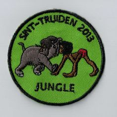 Jungle book! Every youth movement should have a patch like this as a camp memory. You can simply sew or iron it on your uniform. Upload your own design on ibadge.com!