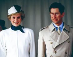 Charles, Prince of Wales, and Diana, Princess of Wales during Official vist to Portugal on 11th February 1987 [UK Press via Getty Images]