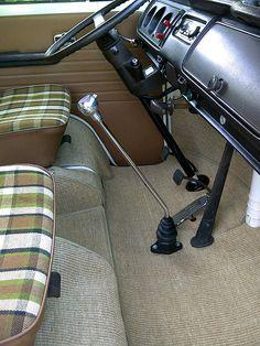 cab mats and new shifter | Gene Berg, Madmatz. | Rob E | Flickr