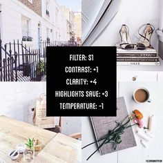869 Best Photography Tips images Instagram Theme Vsco, Instagram Feed, White Instagram Theme, Lightroom, Photography Filters, Photography Editing, Photography Classes, Mode Collage, Photo Tips