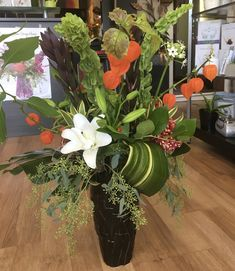 Brantford Blooms Florist offers unique arrangements for any occasion. With same-day day delivery, your flowers will surely brighten someone's day. Blooms Florist, Funeral, Flower Arrangements, Exotic, Congratulations, Birthdays, Flowers, Unique, Plants