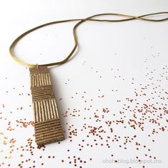 Pasta Jewelry never looked so good!