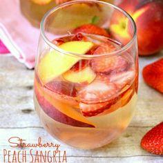 Strawberry Peach Sangria square 3
