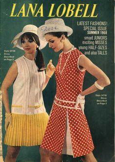 lana lobell | What We Wore Then: Lana Lobell catalog, 1968