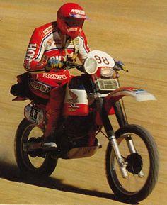 Safari bike pics - past & present Vintage Motorcycles, Cars And Motorcycles, Rallye Paris Dakar, Rally Dakar, Rallye Raid, Desert Sled, Honda Africa Twin, Dirt Bike Racing, Enduro Motorcycle