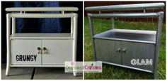 Daisies & Crazies | Nightstands - Grungy to Glam
