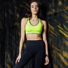 ebdc71c0b7 Sports Bra 2 colors yoga top sport shirt women Quick Dry Fitness sport  shirt yoga shirt