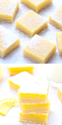 The Best Classic Easy Lemon Bars With Shortbread Crust Recipe – buttery crust and fresh and tangy lemon curd on top. Simple dessert, you can make any time of the year! desserts, Best Classic Easy Lemon Bars With Shortbread Crust Recipe Easy Dessert Bars, Dessert Simple, Simple Dessert Recipes, Cake Bars, Lemon Recipes, Baking Recipes, Fruit Recipes, Desert Recipes, Lunch Recipes