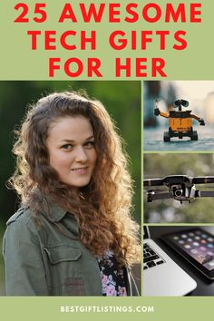 Tech Gifts for Women - 25 Best Tech Gifts for Her - Top 10 Gifts for Women: If You've got a guy who might fancy some tech gifts, then you've got to check out this list of Top 25 Awesome Tech Gifts for Her! | Best Gift Listings | #giftideas #gifts #awesomegifts #bestgiftlistings #giftguides #bgl