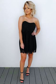 Share to save 10% on your order instantly! The Future Begins Dress: Black