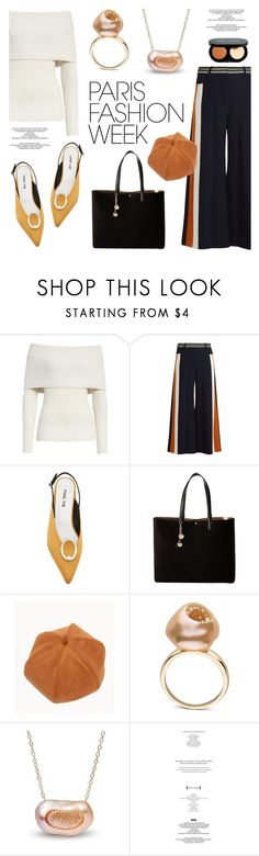 """""""Pack and Go: Paris Fashion Week"""" by littlehjewelry ❤ liked on Polyvore featuring Rebecca Taylor, Peter Pilotto, Salvatore Ferragamo, WithChic, StyleNanda and Bobbi Brown Cosmetics"""