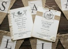 Katies Rose Cottage: Burlap Banner Tutorial & Baby Shower Things